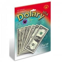 ALEXANDER Pieniądze do Zabawy i Nauki DOLARY 7459