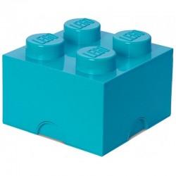 LEGO Pojemnik 4 na Zabawki LAZUROWY