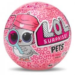 L.O.L SUPRISE PETS! Seria 4 EYE SPY Laleczka ZWIERZĘTA DOMOWE w Kuli i Akcesoria 52109
