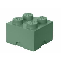 LEGO Pojemnik 4 na Zabawki PIASKOWA ZIELEŃ