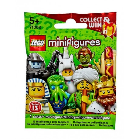 Lego Minifigurki - 71008 - Collect Win - Seria 13