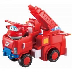 SUPER WINGS Transformujący Pojazd z Figurką DŻETEK JETT 720311