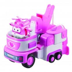 SUPER WINGS Transformujący Pojazd z Figurką DIZZY FRUNIA 720314
