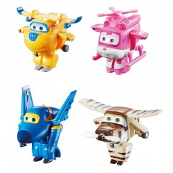 SUPER WINGS Czteropak Figurek FRUNIA LOTEK ŚRUBEK BELLO 710620