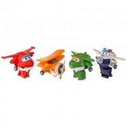 SUPER WINGS Czteropak Figurek MIRA JETT PAUL GRAND ALBERT 710610