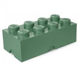 LEGO Pojemnik 8 na Zabawki PIASKOWA ZIELEŃ