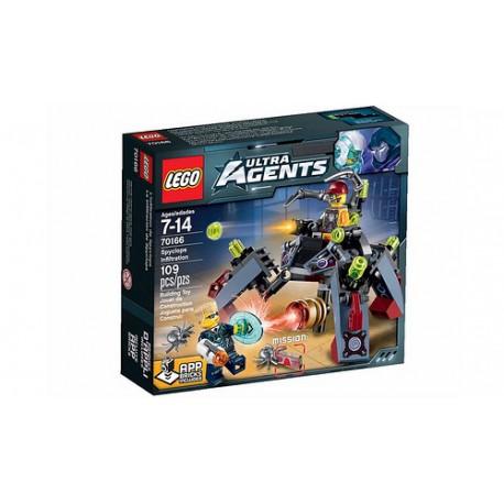 LEGO ULTRA AGENTS 70166 Szpieg Spyclopów NOWOŚĆ 2015