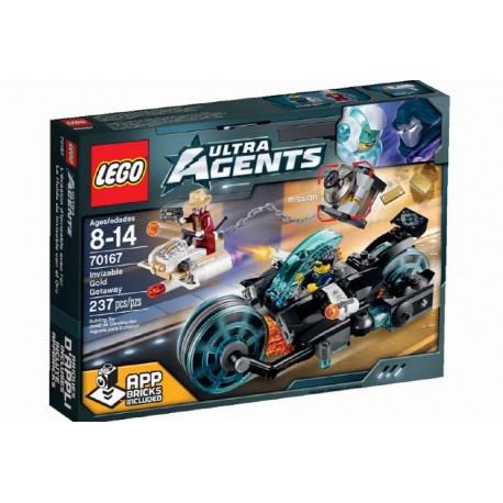 LEGO ULTRA AGENTS 70167 Invizable - Ucieczka ze złotem NOWOŚĆ 2015