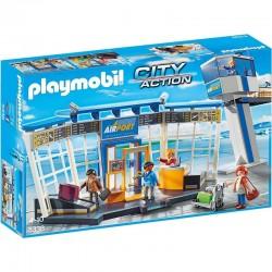 PLAYMOBIL 5338 CITY ACTION Lotnisko z Wieżą Kontrolną