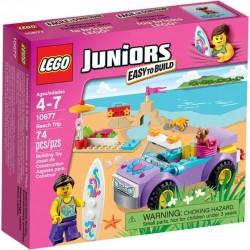 LEGO JUNIORS 10677 Wycieczka na plażę NOWOŚĆ 2015