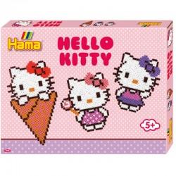 HAMA MIDI 7942 Układanka z Koralików HELLO KITTY