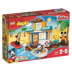 LEGO DUPLO 10827 Klub Przyjaciół Myszki Miki DOMEK NA PLAŻY