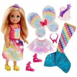 MATTEL Barbie w Krainie Dreamtopia PRZEMIANA CHELSEA FJC99