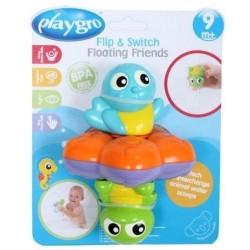 PLAYGRO Zabawka do Kąpieli PŁYWAJĄCY PRZYJACIELE 9595