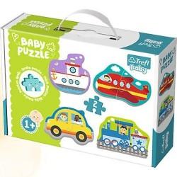 TREFL BABY Puzzle POJAZDY TRANSPORTOWE 36075