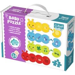 TREFL BABY Puzzle SORTER KSZTAŁTÓW 36079