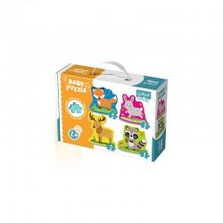 TREFL BABY Puzzle ZWIERZĘTA LEŚNE 36077