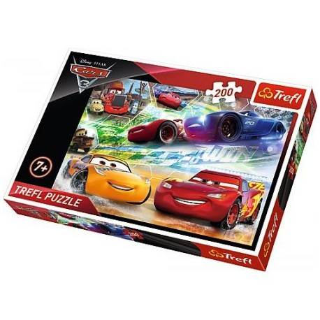 TREFL Puzzle 200 AUTA CARS 3 13232