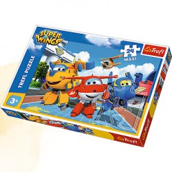TREFL Puzzle MAXI 24 SUPER WINGS 14252