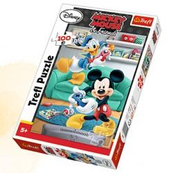 TREFL Puzzle 100 MYSZKA MIKI 16291