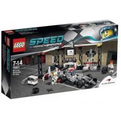 LEGO SPEED CHAMPIONS 75911 Pit Stop McLaren Mercedes NOWOŚĆ 2015
