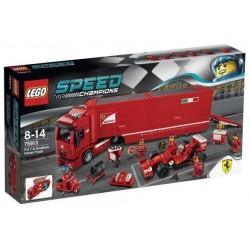 LEGO SPEED CHAMPIONS 75913 Ciężarówka Scuderia Ferrari i Bolid F14 T NOWOŚĆ 2015
