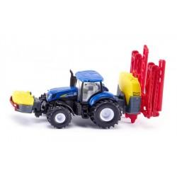 SIKU FARMER Rolnicze Pojazdy Metalowe 1:87 Traktor z Opryskiwaczem NEW HOLLAND 1799