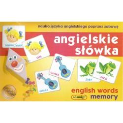 ADAMIGO Memory ANGIELSKIE SŁÓWKA 5628