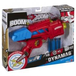 Mattel - CJF20 - Boomco - Wyrzutnia Dynamag