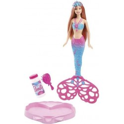 Mattel - CFF49 - Barbie - Bąbelkowa Syrenka