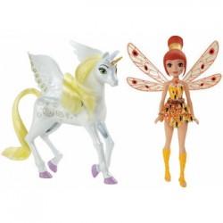 Mattel - CHK00 - Mia and Me - Wróżka i Jednorożec - Yuko i Onchao