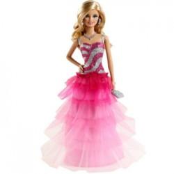Mattel - BFW18 - Barbie - Modne Przyjaciółki - Sukienka w Falbany