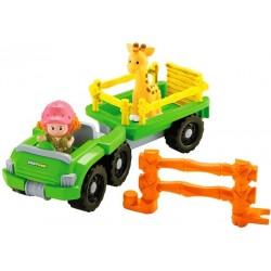 Fisher-Price - Little People - BDY72 - Pojazd z przyczepą