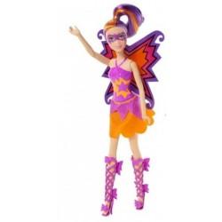 Mattel - CDY66 - Barbie - Super Księżniczki - Bliźniaczki Motyle - Fioletowa