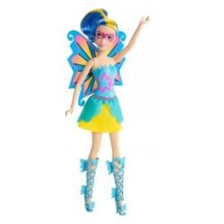 Mattel - CDY65 - Barbie - Super Księżniczki - Bliźniaczki Motyle - Niebieska
