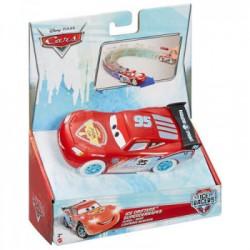 Mattel - CDN68 - Disney Pixar - Cars - Lodowa Seria - Pociągnij i jedź - Zygzak McQueen