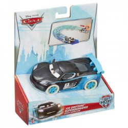 Mattel - CDN70 - Disney Pixar - Cars - Lodowa Seria - Pociągnij i jedź - Lewis Hamilton
