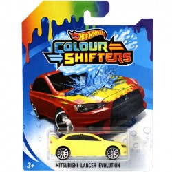 HOT WHEELS Auto Zmieniające Kolor MITSUBISHI LANCER EVOLUTION FPC54
