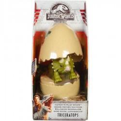 JURASSIC WORLD Jajko z Dinozaurem TRICERATOPS FMB94 FMB91