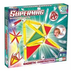 SUPERMAG Magnetyczne Klocki Konstrukcyjne 48 Elementów 0151