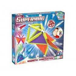 SUPERMAG Magnetyczne Klocki Konstrukcyjne 48 Elementów NEON 0155