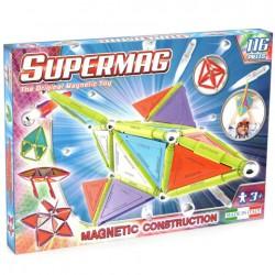 SUPERMAG Magnetyczne Klocki Konstrukcyjne 116 Elementów NEON 0157