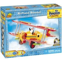 COBI PINGWINY Z MADAGASKARU 26150 Samolot Bombowy