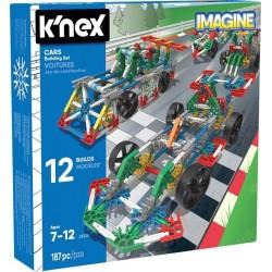 K'NEX IMAGINE Klocki Konstrukcyjne 12 Modeli 187 El. SAMOCHODY 25525