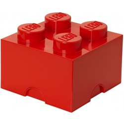 LEGO Pojemnik 4 na Zabawki Czerwony 0300