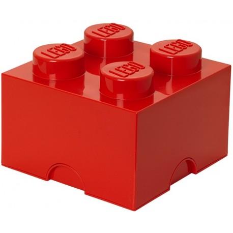 LEGO Pojemnik 4 na Zabawki Czerwony