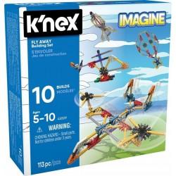 K'NEX IMAGINE Klocki Konstrukcyjne 10 Modeli 113 El. W POWIETRZU 45509