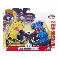 TRANSFORMERS Combiner Force DRAGSTRIP WILDBREAK C2342