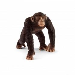 SCHLEICH 14817 Figurki Zwierząt Dzikich SZYMPANS SAMIEC