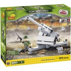 COBI MAŁA ARMIA 2343 Działo Niemieckie - Flak 36/37